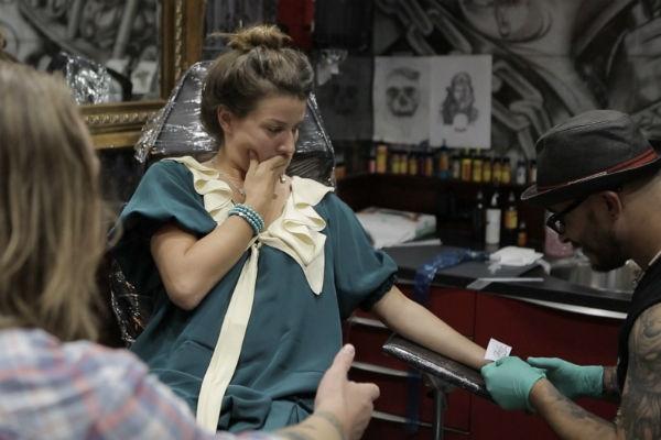 Жанна Бадоева посвятила первую татуировку дочери