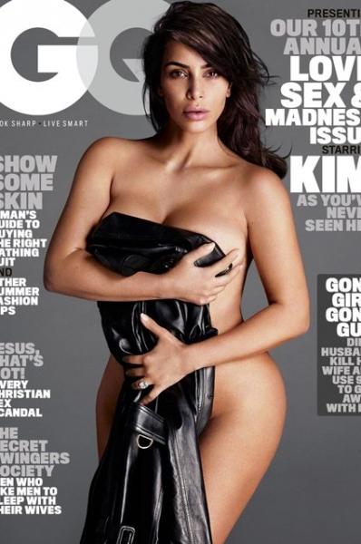 Ким Кардашьян в горячей фотосессии для GQ