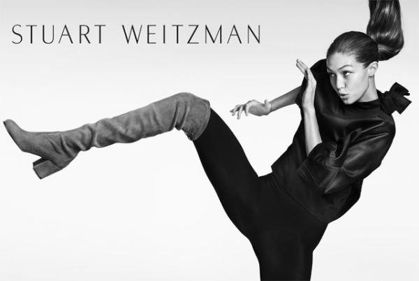Обувной бренд Stuart Weitzman представил новое лицо компани - Джиджи Хадид