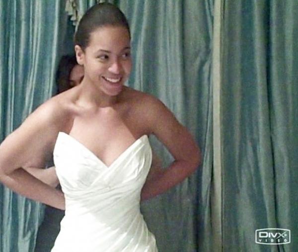 Бейонсе не нравилось собственное свадебное платье