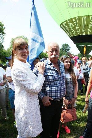 Леонид Якубович сменил вертолет на воздушный шар