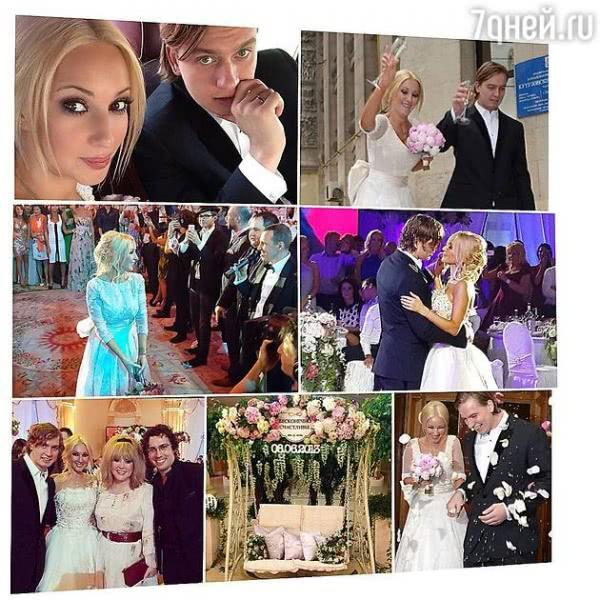 Лера Кудрявцева отмечает годовщину свадьбы