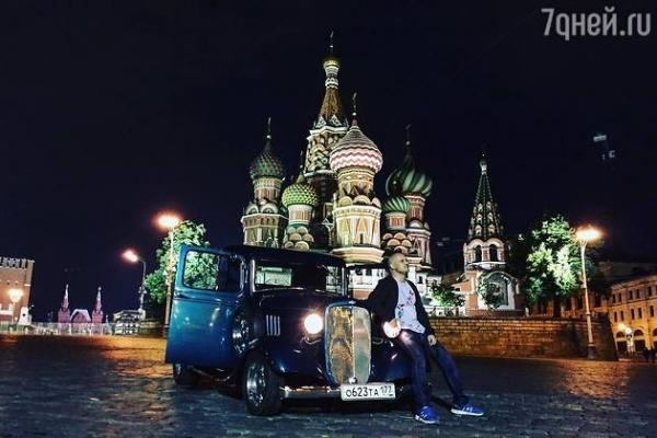 Гоша Куценко купил раритетный автомобиль