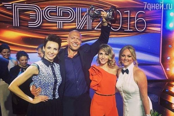 Срочная новость: Юлия Ковальчук впервые получила премию ТЭФИ