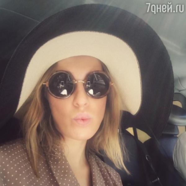 Беременная Ксения Собчак уехала отдыхать в Италию