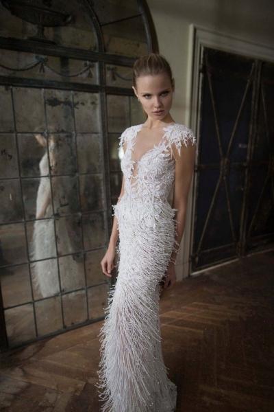 Магдалена Фраковяк представила роскошную коллекцию свадебных платьев