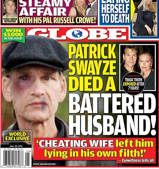 Жена превратила последние дни Патрика Суэйзи в ад