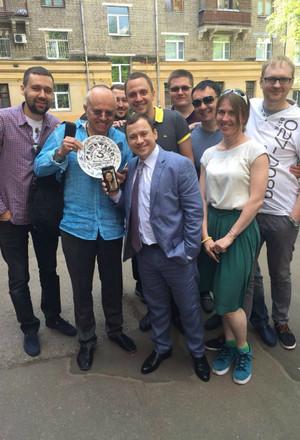 Гайдулян вернулся к съемкам «САШИТАНИ»: фото