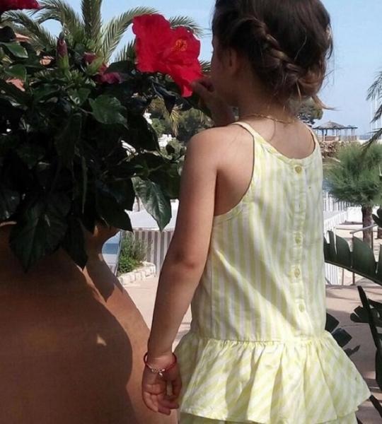 Виктория Боня опубликовала в блоге фото подросшей дочки