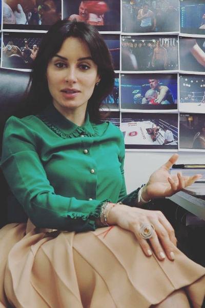 Тина Канделаки: «Мой муж болеет за «Зенит»