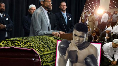 Тысячи людей простились с Мохаммедом Али