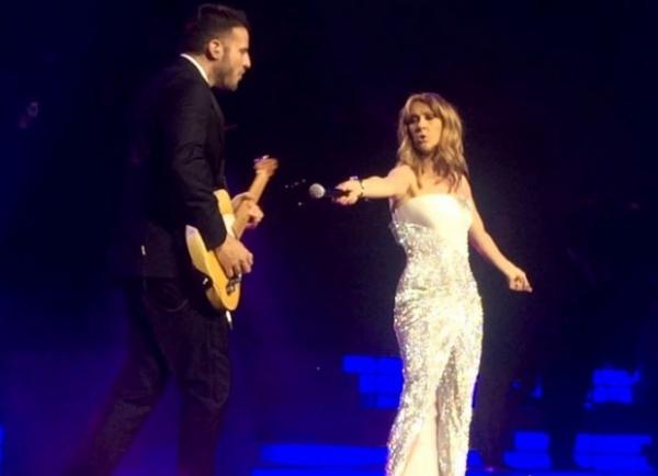 СМИ: Селин Дион встречается с гитаристом