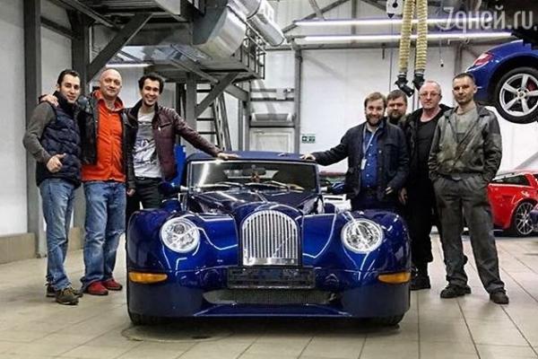 Гоша Куценко продает элитный автомобиль
