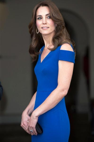 Миддлтон вышла в свет в «анорексичном» платье
