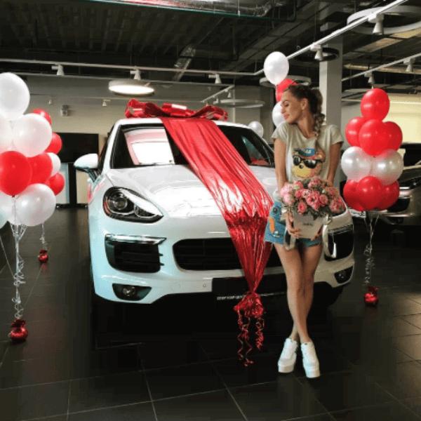 Анна Хилькевич стала обладательницей авто премиум класса