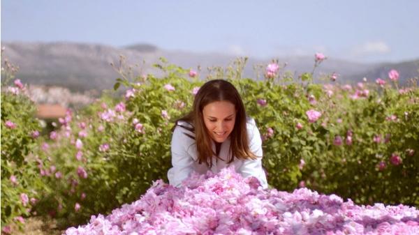 Натали Портман посетила Грасс вместе с парфюмером Dior