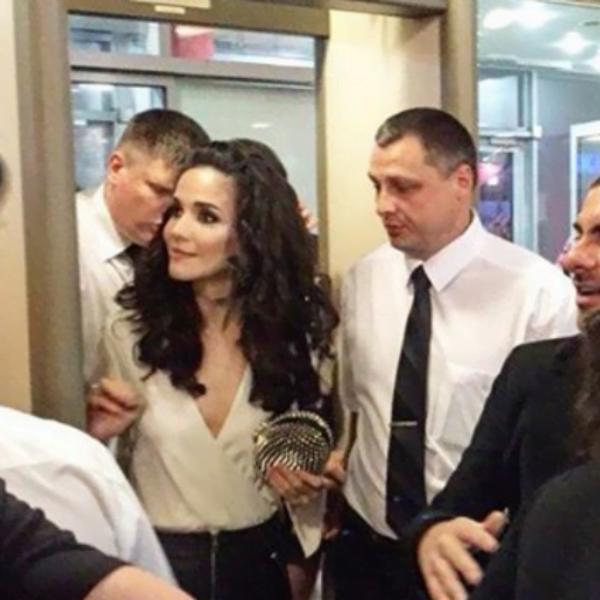 Приезд Натальи Орейро в Россию вызвал скандал