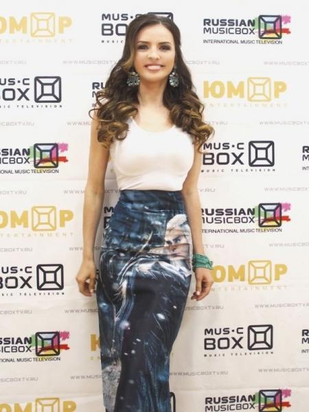 Лена Волхонская украсила эфир молодежного канала RUSSIAN MUSICBOX