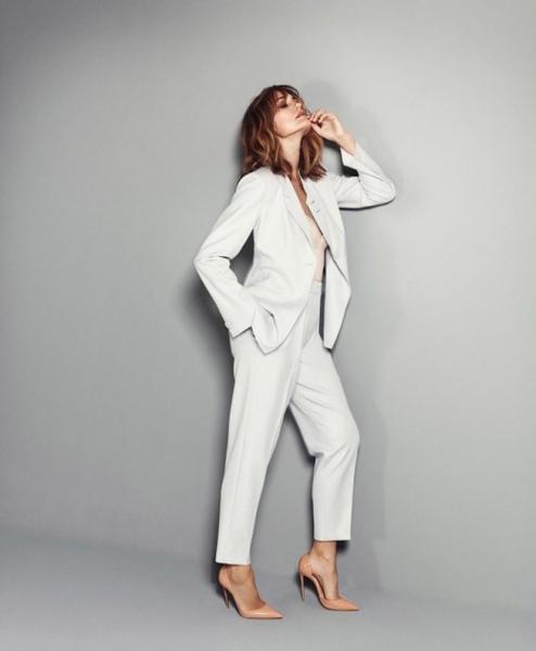 51-летняя Ясмин Ле Бон позирует для Madame Figaro