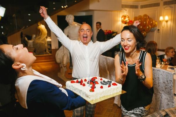 Михаил и Евгения Грушевские отпраздновали день рождения сына