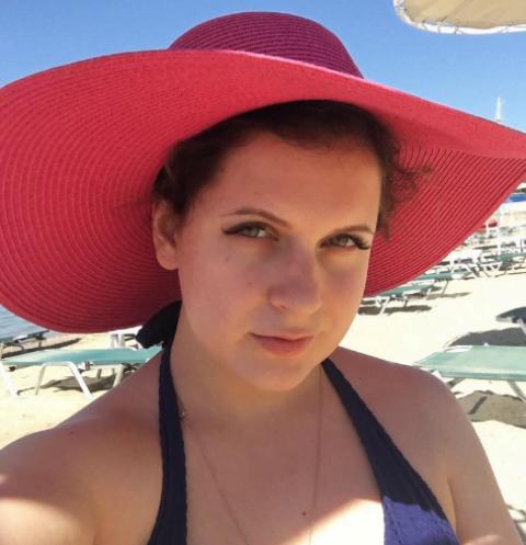 Анастасия Денисова наслаждается медовым месяцем
