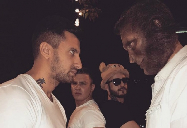Рэпер T-Killah снял в клипе настоящих обезьян