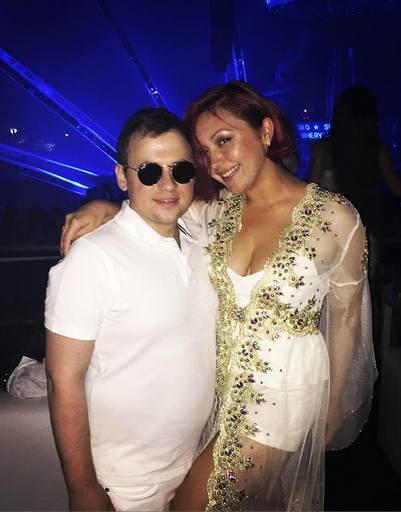 Андрей Гайдулян зажег с невестой на фестивале Sensation