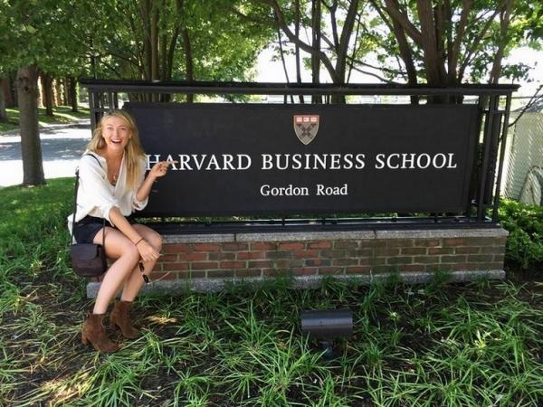 Мария Шарапова стала студенткой Гарвардского университета