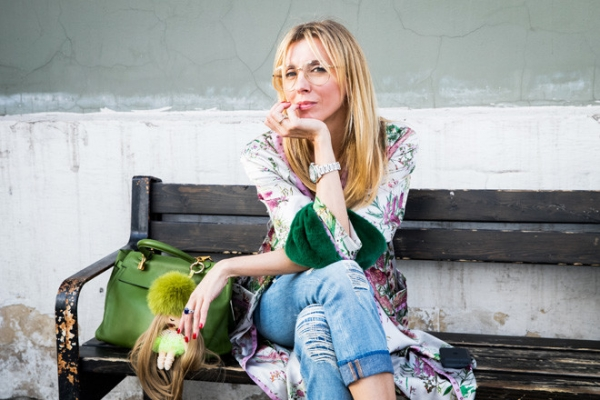 Молода и прекрасна: Бондарчук на премьере «Без ума от Tiffany»