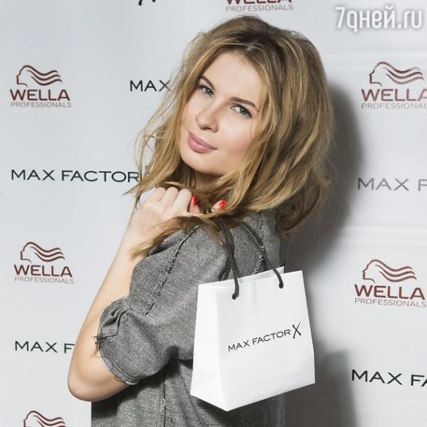 Романтический образ Анны Цукановой-Котт от Max Factor и Wella Professionals