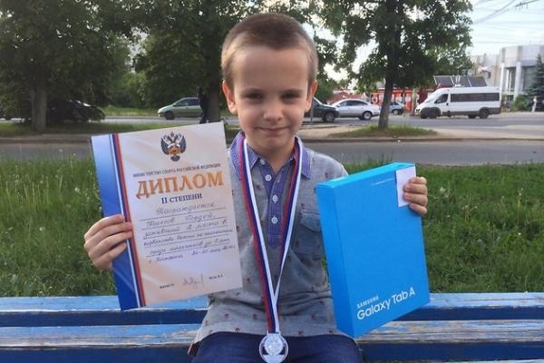 Самый юный ведущий Первого канала стал вице-чемпионом России по шахматам