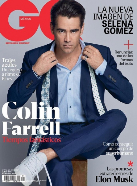 Колин Фаррелл украсил обложку свежего номера GQ