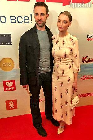 Екатерина Вилкова и Илья Любимов впервые сыграли пару в кино