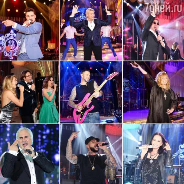 Алла Пугачева, Лепс и Maroon5 спелись на свадьбе миллиардера