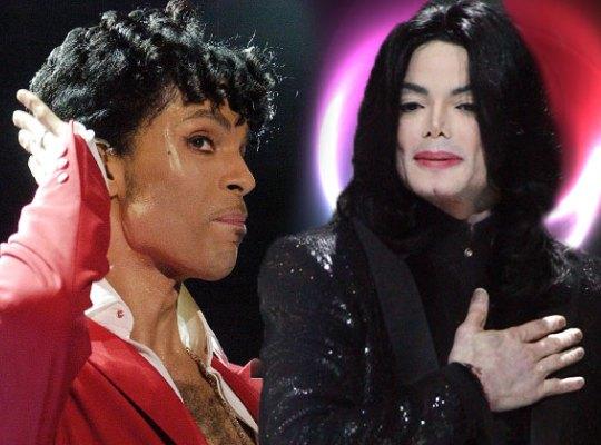 Майкл Джексон и Принс враждовали между собой