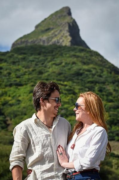 Линдси Лохан и Егор Тарабасов отдыхают на Маврикии