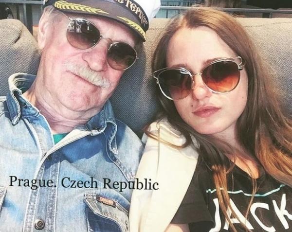 85-летний Иван Краско исполнил мечту молодой жены