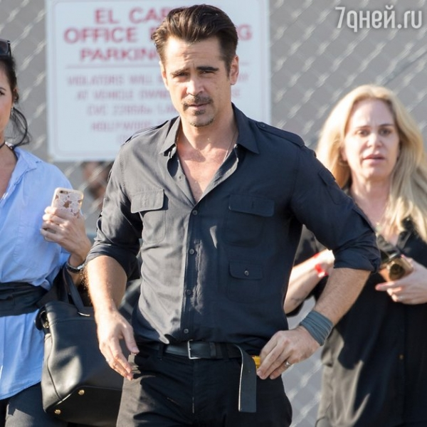 The former womanizer and the alcoholic Colin Farrell is ready to start a new life