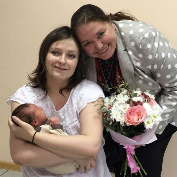 В семье Федора Бондарчука родился ребенок