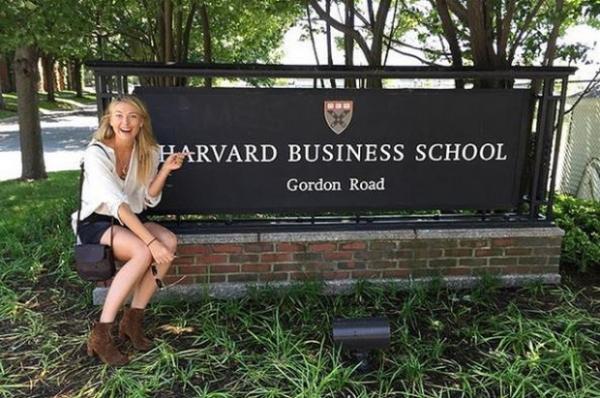 Мария Шарапова будет учиться в Гарварде