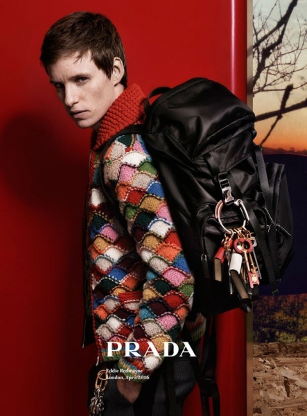 Эдди Рэдмейн снялся для рекламы новой коллекции Prada