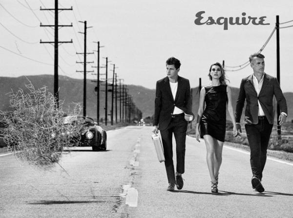 Хейли Болдуин украсила страницы Esquire Magazine