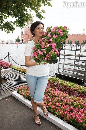 Юлия Пересильд увидела полмиллиона цветов