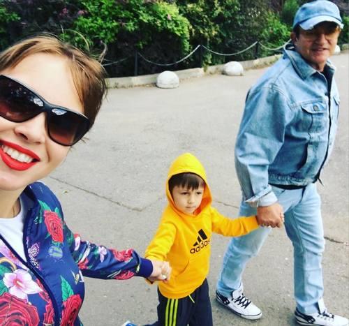 Полина Диброва стала крестной мамой