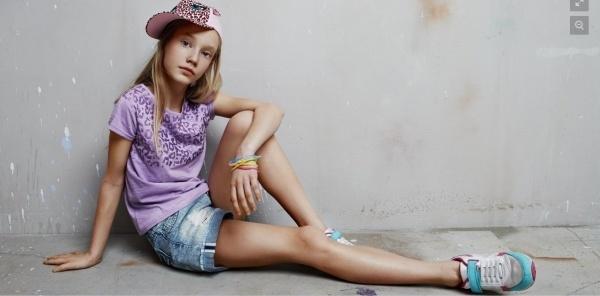 13-летняя Дарья Серёгина из Смоленска ждёт своего Звёздного часа на показе в Италии