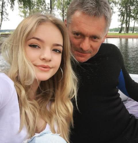 Дочь Дмитрия Пескова рассказала о встречах с отцом