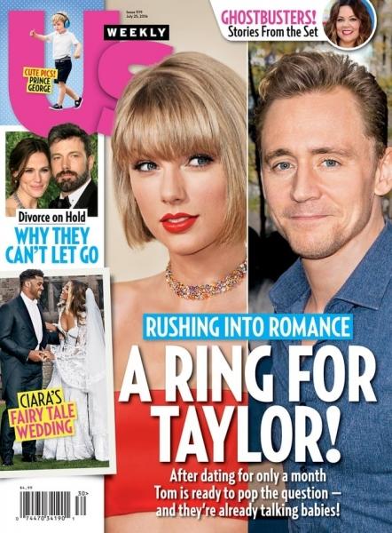 Том Хиддлстон собирается жениться на Тэйлор Свифт