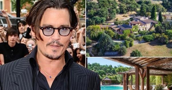 Джонни Депп продает свою «французскую деревню» за 55 миллионов долларов