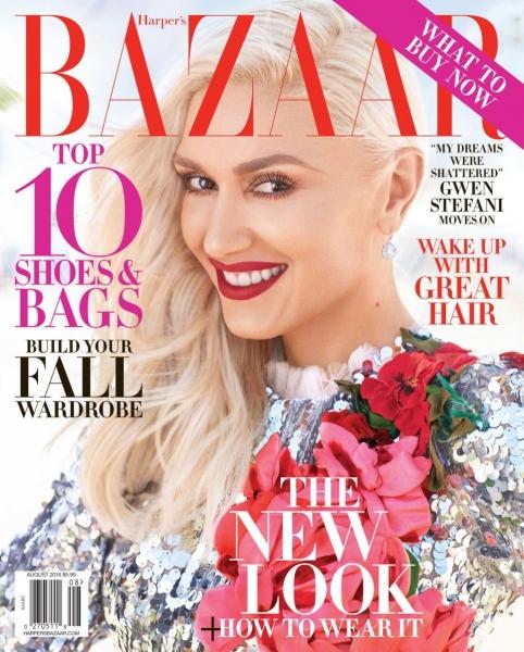 Гвен Стефани блистает на страницах нового Harper's Bazaar