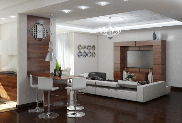 Главные правила вдизайне маленьких квартир